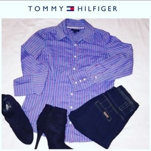 Tommy Hilfiger Fitted Button down top size M